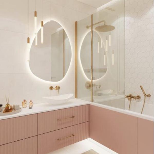 Фото №3 - От золота до дерева: 4 оригинальных идеи дизайна ванной комнаты