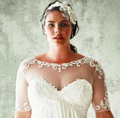 5 правил выбора свадебного платья для полных девушек
