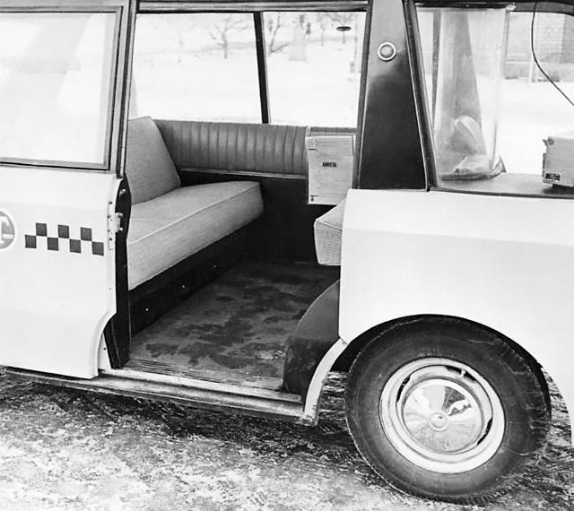 Низкий и ровный пол— главное преимущество автомобиля
