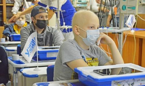 Фото №1 - Пациенты НИИ детской онкологии, гематологии и трансплантологии им.Горбачевой  смогут сесть за парты