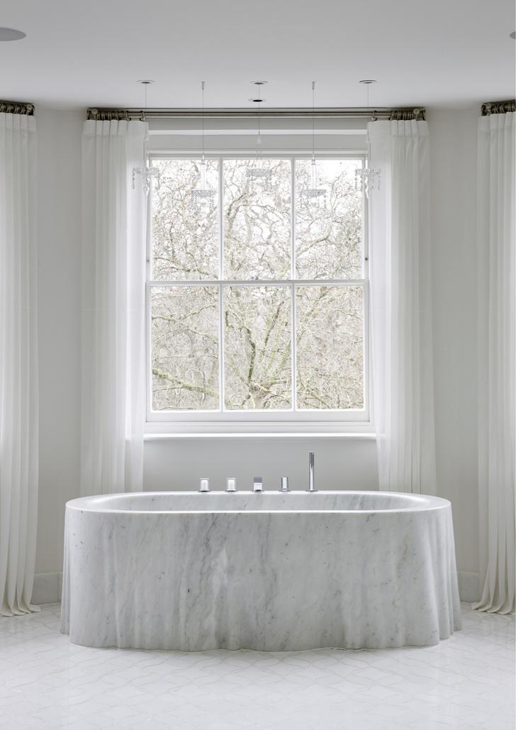 Фото №10 - Ванная комната в классическом стиле: 12 проектов с комментариями дизайнеров