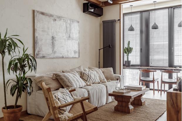 Фото №2 - Московская квартира 63 м² в эко-стиле
