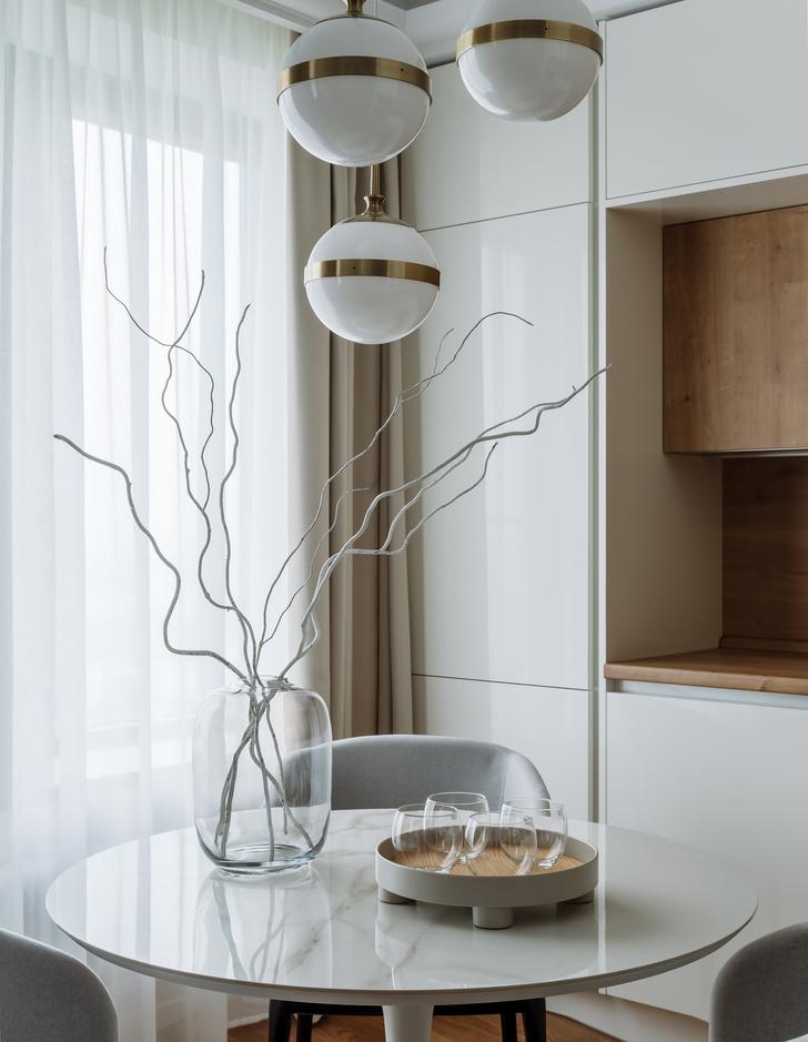 Фото №6 - Светлая квартира 60 м² для молодой пары из Петербурга