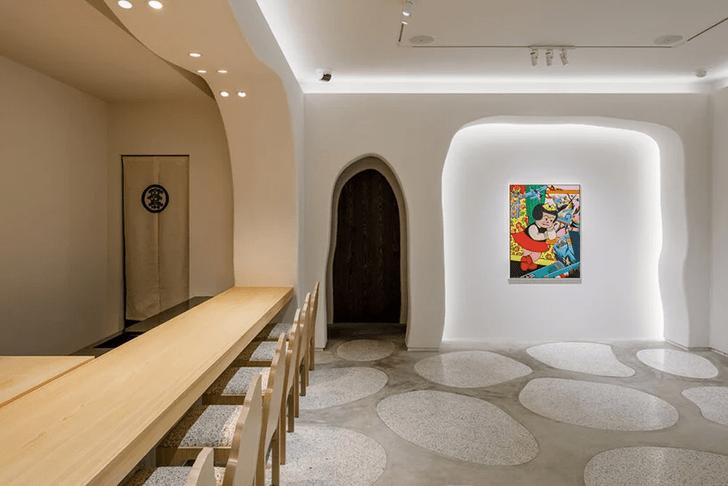 Фото №5 - Ресторан-галерея в Токио