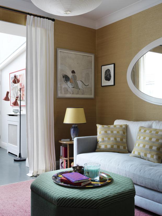 Фото №3 - Маленькая квартира с яркими акцентами в Лондоне