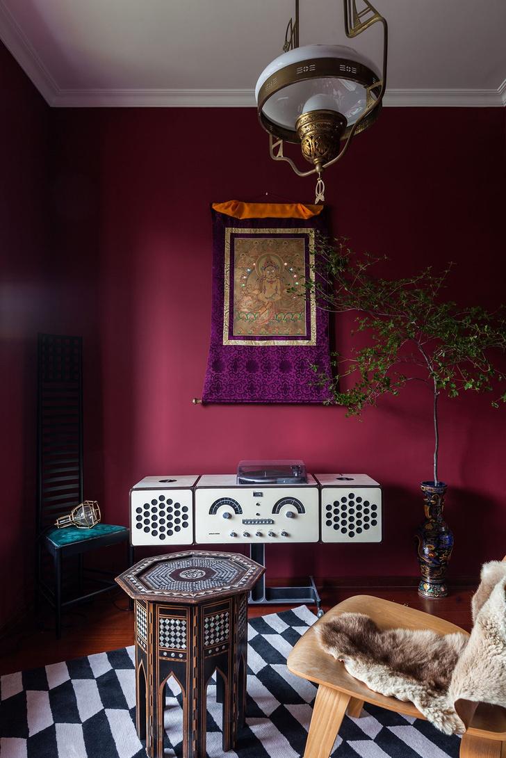 Фото №8 - Эклектичная квартира с винтажной мебелью в Шанхае