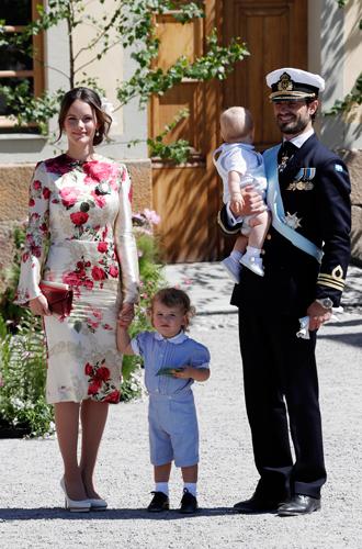Фото №4 - Как проходило крещение шведской принцессы Адриенны