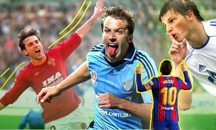Фото №1 - Жесты, перформансы и смертельные номера: что творят футболисты на стадионе