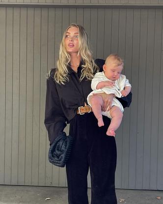 Фото №10 - Мадонны 21 века: почему современные модели отворачиваются от своих детей на фото