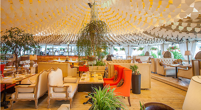 Открытие летней веранды ресторана Shakti Terrace: Егор Крид