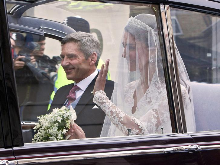 Фото №2 - Еще 8 любопытных фактов о свадьбе Кейт и Уильяма, которых вы точно не знали