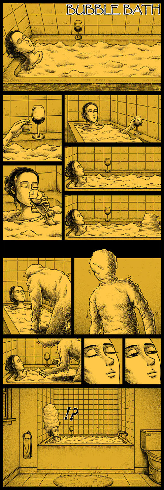 Фото №26 - 30 комиксов с отборным черным юмором от Бена Чена