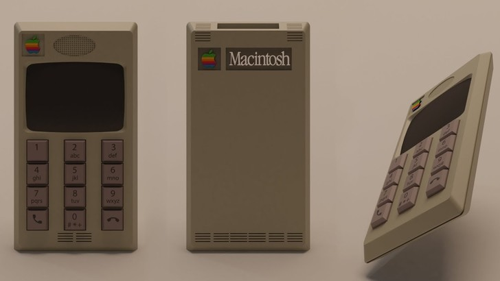 Фото №1 - Как выглядела бы реклама iPhone, если бы его изобрели в 80-х или 90-х (видео)