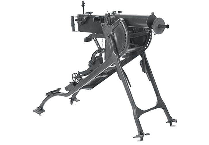 Хайремом Максимом создан 7,62-мм пулемет «Максим».