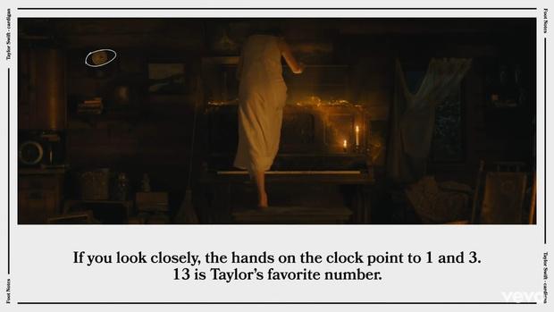Фото №2 - Тейлор Свифт раскрыла все неожиданные пасхалки клипа «Cardigan»