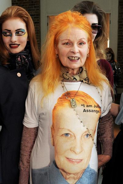 Вивьен Вествуд (Vivienne Westwood) на Неделе моды в Лондоне