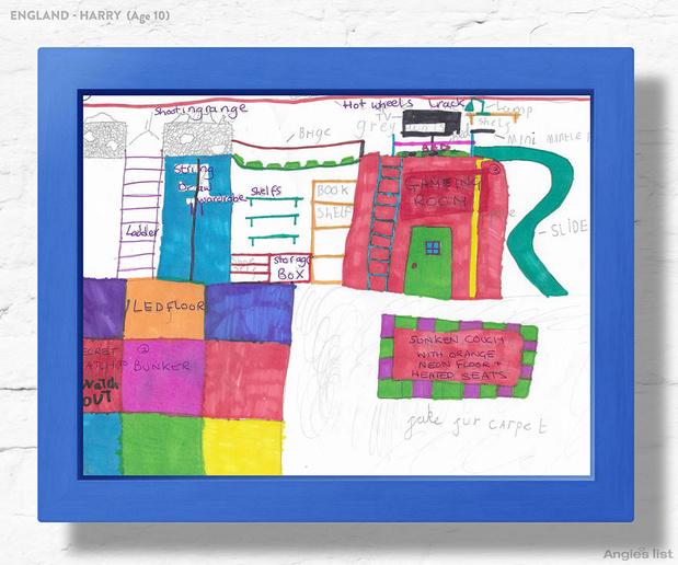 Фото №11 - Комната-мечта: 7 детских, созданных по рисункам малышей