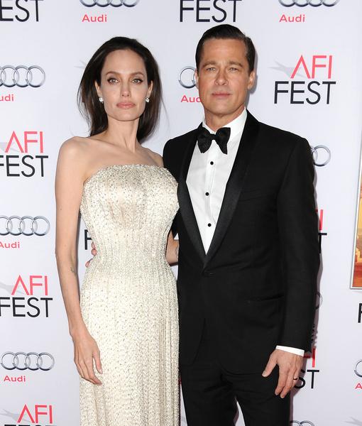 Джоли призналась, что Питт заставил ее выйти замуж