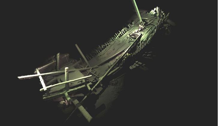 Фото №2 - На дне Черного моря обнаружено кладбище древних кораблей