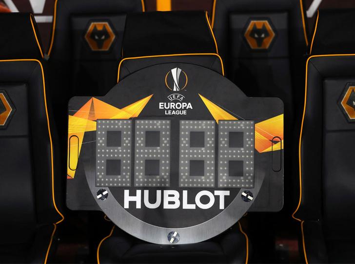 Фото №1 - Дни, часы, минуты: бренд Hublot начал отсчет до Евро-2020