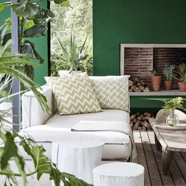 Фото №2 - Да будет цвет: 10 идей декорирования террасы