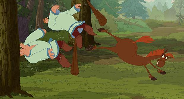 Фото №3 - На экраны выходит мультфильм «Три богатыря. Ход конем»
