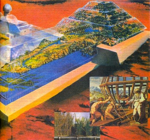 Фото №1 - «Ноев ковчег» в Аризонской пустыне