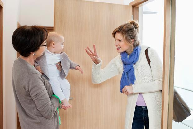 Как научить ребенка расставаться с мамой