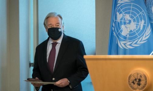Фото №1 - Генсек ООН предупредил об угрозе появления новых вирусов, передающихся от животных человеку