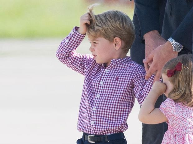 Фото №3 - Как герцогиня Кейт хотела назвать принца Джорджа, и почему она передумала