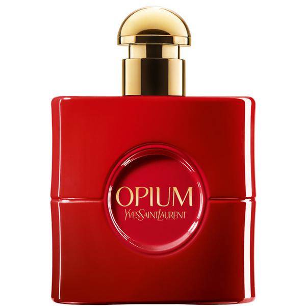 Лимитированный выпуск легендарного аромата YSL OPIUM ROUGE FATAL
