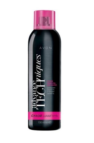 Сухой шампунь для волос Avon Techniques