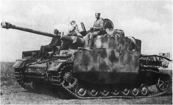 Фото №6 - Что немцу хорошо, то и Красной армии подойдет— танки вермахта с красными звездами