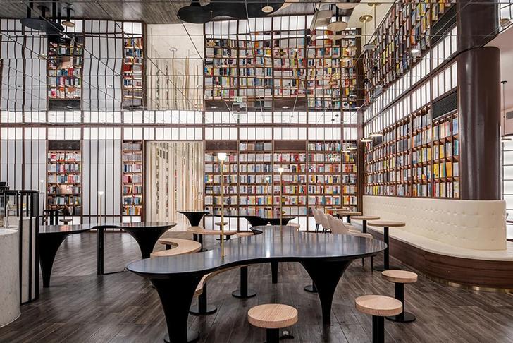 Фото №6 - Футуристичный книжный в Пекине по проекту X+Living