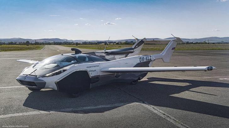 Фото №1 - Летающий автомобиль впервые совершил междугородний перелет