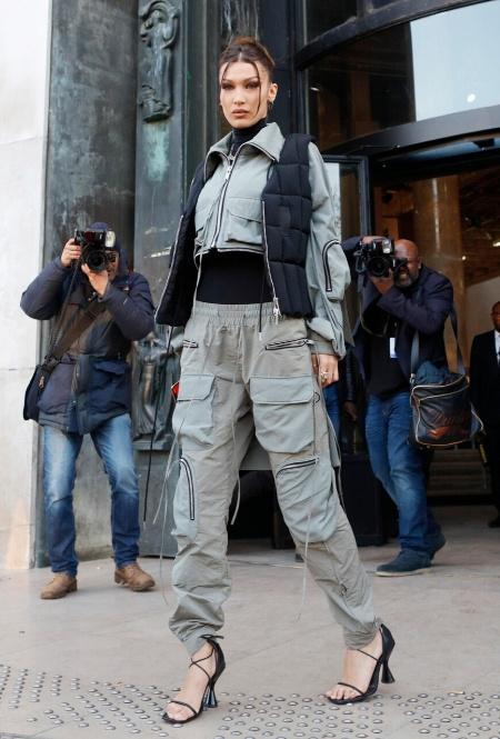 Белла Хадид в Париже