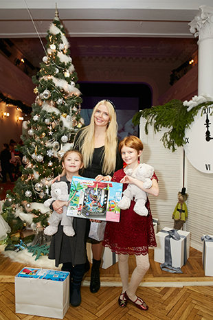 Анна Чурина с дочерью Ксенией