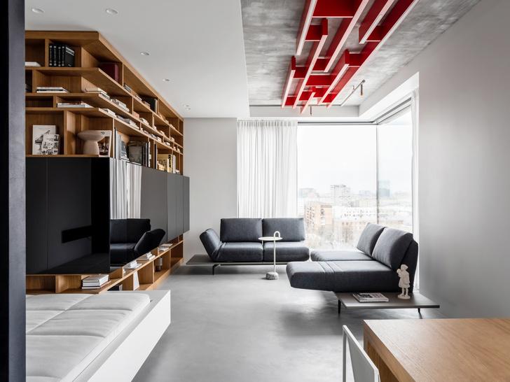 Фото №1 - Минималистская квартира для любителей русского авангарда в Москве