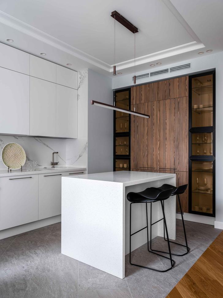 Фото №2 - Московская квартира 100 м² в пастельных тонах