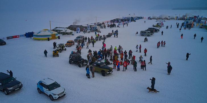 Фото №1 - По толстому льду: как прошли «Байкальская миля» и «Дни скорости на льду Байкала»