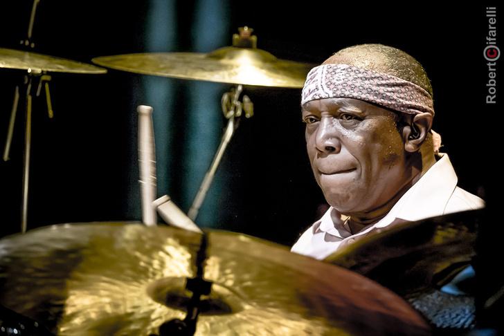 Фото №1 - Легенда джаза Билли Кобэм откроет абонемент «Величайшие барабанщики мира» в Светлановском зале ММДМ