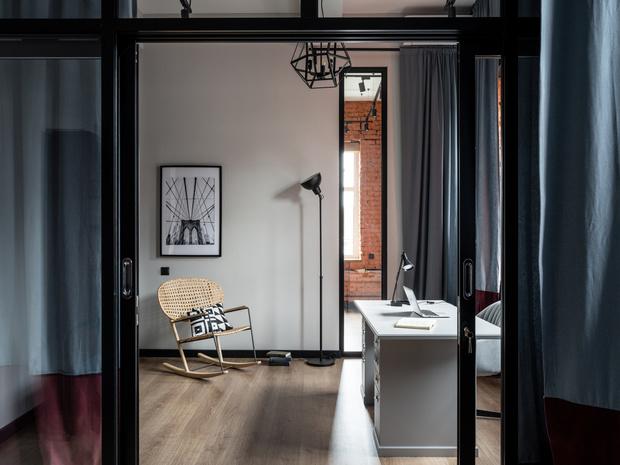 Фото №1 - Новый формат жизни: квартира-офис 52 м²
