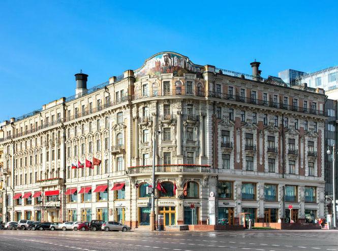 Фото №1 - Знаменитая гостиница с видом на Московский Кремль