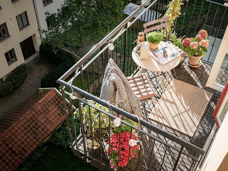 Фото №2 - Маленький балкон: полезные советы по оформлению