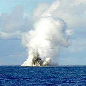 Фото №1 - Вулкан задушил океаны