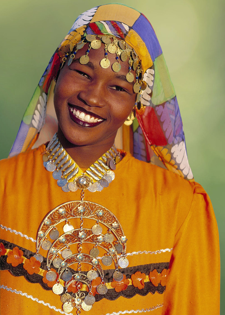 Фото №1 - Мисс мира: Египет. Бирюзовая печать