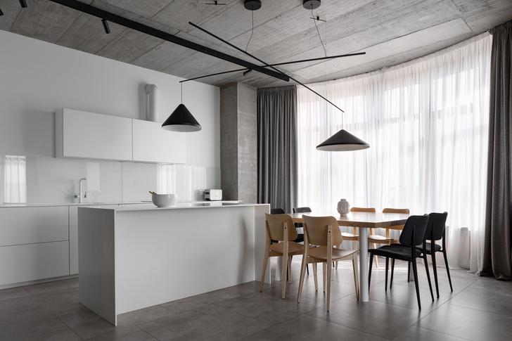 Фото №5 - Бетон + яркие акценты: квартира 166 м² в Кривом Роге