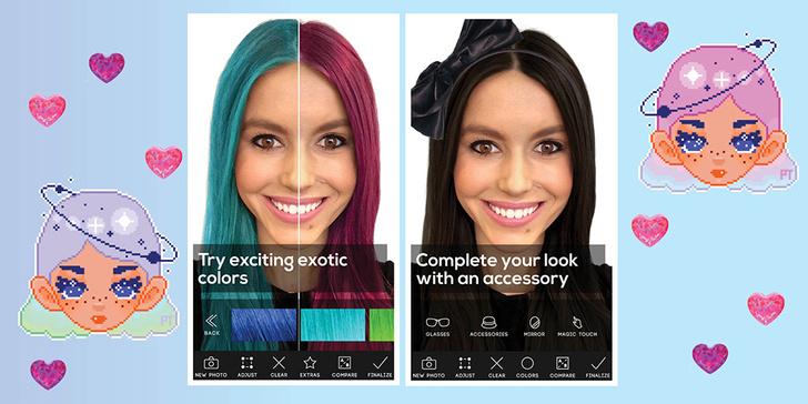Hair Color приложение