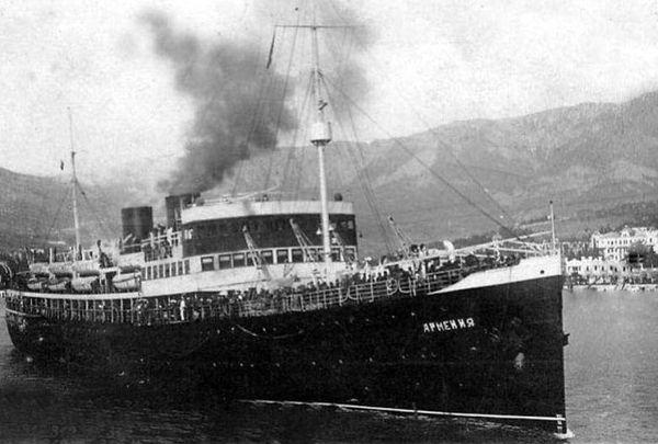 Фото №1 - Центр подводных исследований РГО идентифицировал судно, на котором погибли тысячи людей