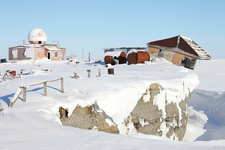 Фото №1 - Экологи выявили рекордно быстрое разрушение берегов Арктики